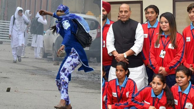 The story of how a stone pelter became captain of Jammu & Kashmir's women's football team