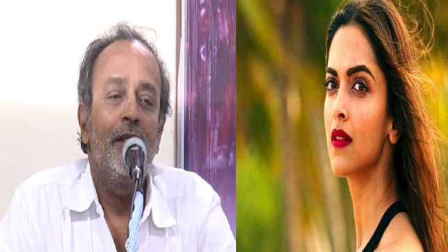 Deepika Padukone's own father had thrown her out of the house: Tamil editor B Lenin at Padmavati meet