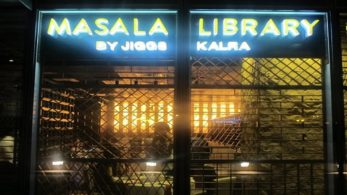 Masala Library, an Indian fine dining restaurant by Jiggs Kalra in Central Delhi offers a range of India's old traditional food with some modernized cooking techniques