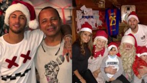 Lionel Messi, Cristiano Ronaldo, Neymar and other hot shot footballers wish their fans merry Christmas