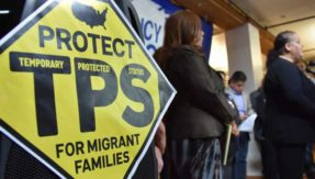 US to scrap temporary protected status for Salvadorans in 2019
