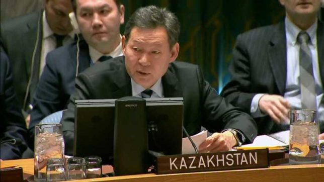UN Security Council to hold high-level meeting over Afghanistan: Council President Kairat Umarov