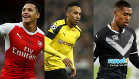Walcom, Aubameyang in Arsenal's three man shortlist to replace Alexis Sanchez