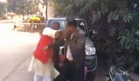 VVIP arrogance caught on tape! BJP leader Rajdhani Yadav slaps govt officer; video goes viral