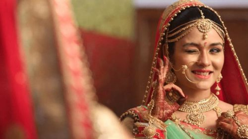Don't overdo stress or make-up on wedding day