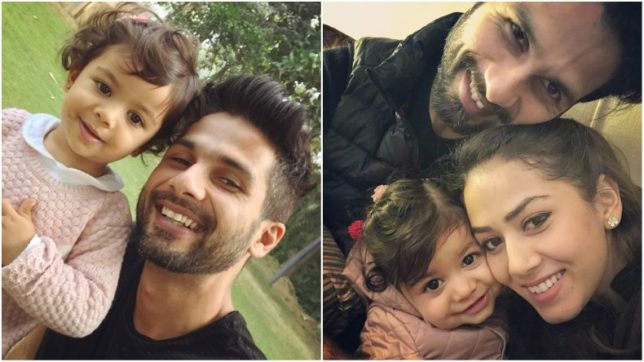 Cuteness Alert! Baby Misha steps into her dad Shahid Kapoor's shoes