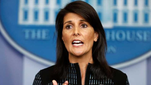 Trump will 'go to great lengths' to stop Pakistan aid, says Nikki Haley