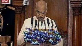 Economic Survey India 2017-18 Highlights: President Kovind says in fight against corruption BJP cancelled 350,000 suspicious companies