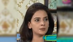 Actress Saba Qamar breaks down on TV; says having Pakistani passport is humiliating