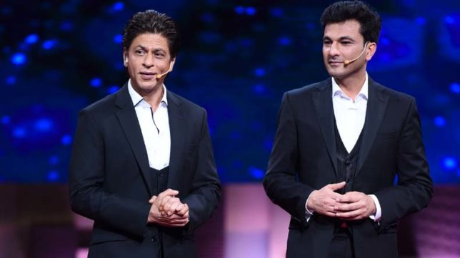 Shah Rukh Khan and Vikas Khanna