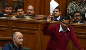 Delhi Assembly adjourned as AAP protests against sealing drive