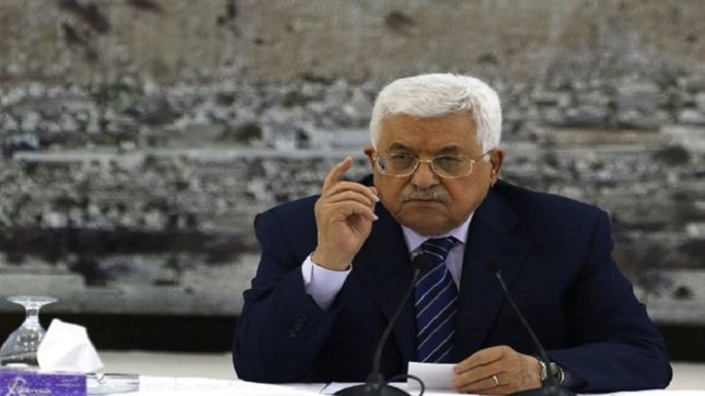 Palestinian President Mahmoud Abbas hails EU as true partner and friend, calls to recognise Palestine