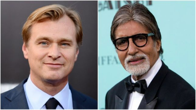Filmmaker Christopher Nolan is coming to India, reveals Amitabh Bachchan