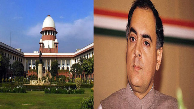 Rajiv Gandhi assassination case: SC issues notice to CBI on convict Perarivalan's plea