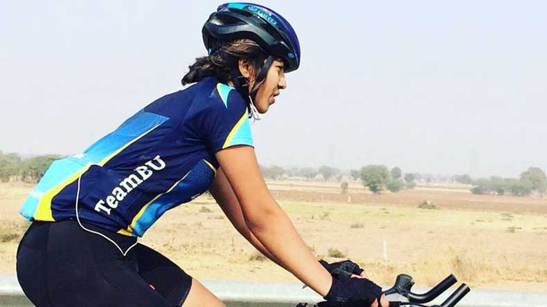Vedangi Kulkarni, who is Vedangi Kulkarni, Vedangi Kulkarni cyclist, cycling world record, Vedangi Kulkarni world record, Pune, Bournemouth University, pune cyclist, world record in cycling, sports, cycling, India,