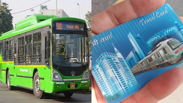 250 DTC buses to accept payments via Delhi Metro cards from 8 January