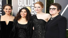 Golden Globes 2018: Celebs' flaunt all-black to protest against sexual harassment scandals