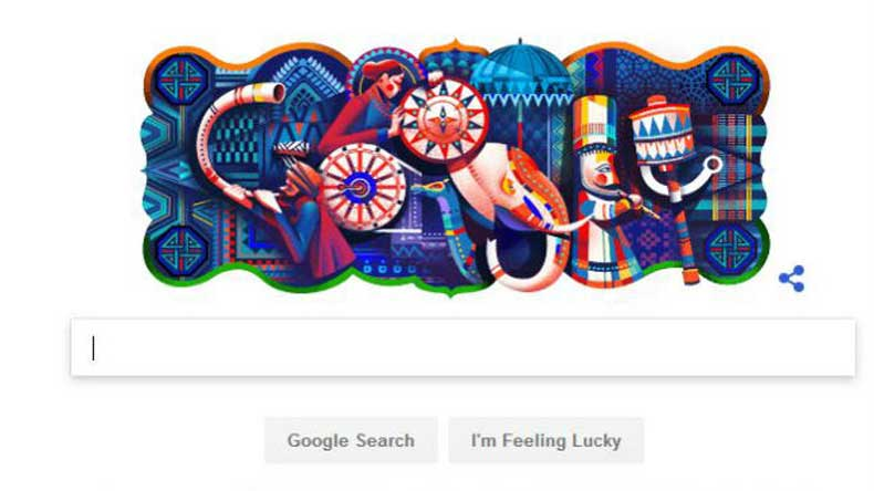 Google Doodle Celebrates Indian Culture On The Nation S 69th