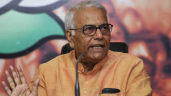 No hearing, no waiting for High Court's order. It is Tughluqshahi (arbitrary) of the worst order: Yashwant Sinha