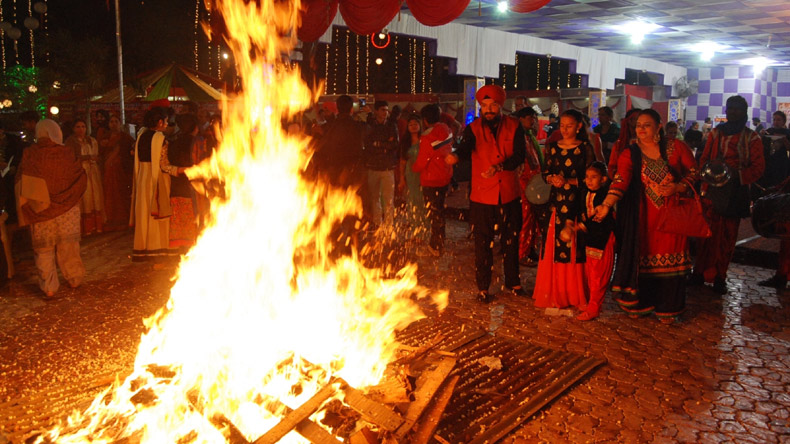Image result for lohri