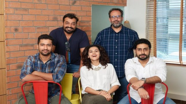 Taapsee Pannu, Vicky Kaushal, Abhishek Bachchan gear up for Anurag Kashyap's Manmarziyaan