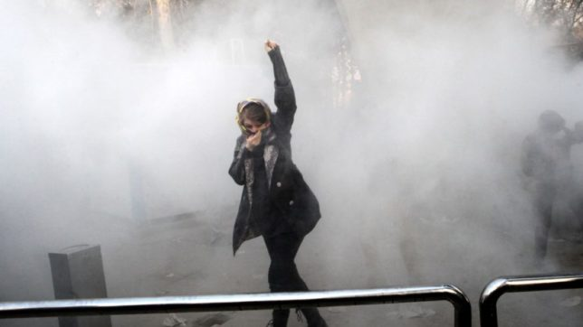 11 dead in Iran protests,President Hassan Rouhani blames foreign powers