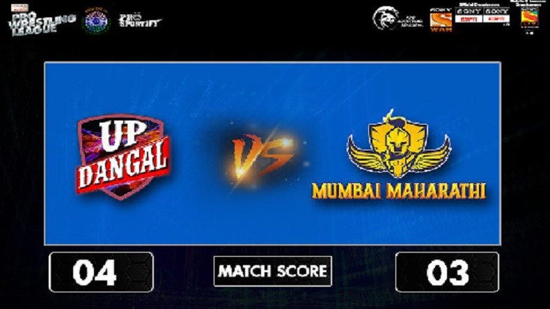 Pro Wrestling League 2018 Season 3 Day 5 HIGHLIGHTS: UP Dangal outclass Mumbai Maharathi by 4-3