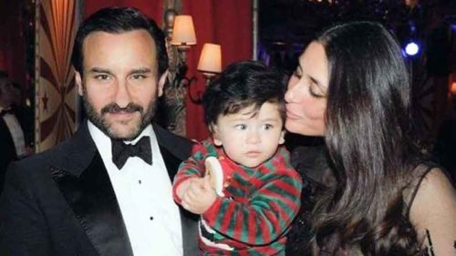 Taimur Ali Khan's picture while combing his hair will make your day!