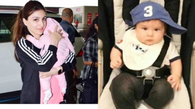 Here's why Soha Ali Khan gets worried when Taimur is alone with Inaaya