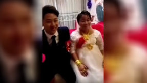 China: Woman pays 5 million Yuan in dowry to marry man 15 years younger than her