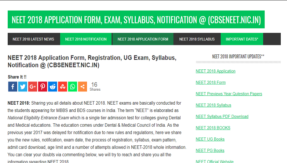 CBSE to announce NEET UG examination dates today