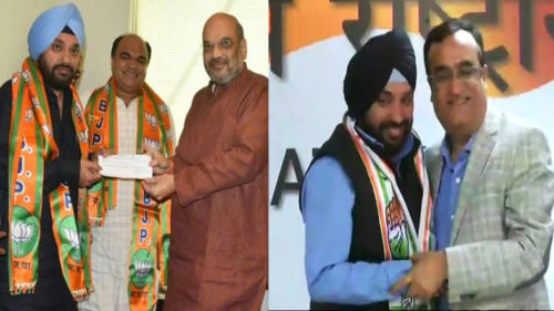 Arvinder Singh Lovely takes u-turn! Joins back Congress after spending 9 months with BJP, says was a misfit there