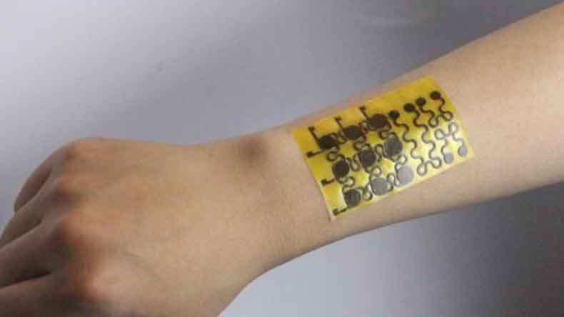 This 'e-skin' is self-healable, malleable and recyclable