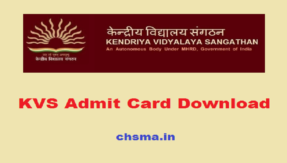 KVS admit card 2018: Download hall tickets from official website