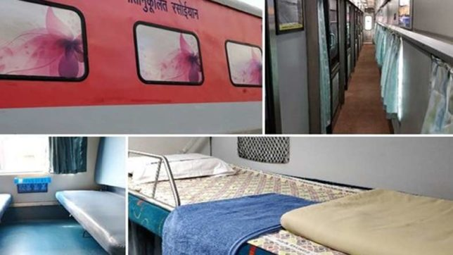 Mumbai-Delhi Rajdhani Express gets new coaches with more facilities under Operation Swarn