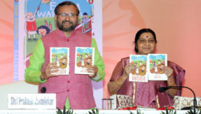 Sushma Swaraj, Prakash Javadekar give exam stress-busting tips to students at launch of PM Modi's book 'Exam Warrior'