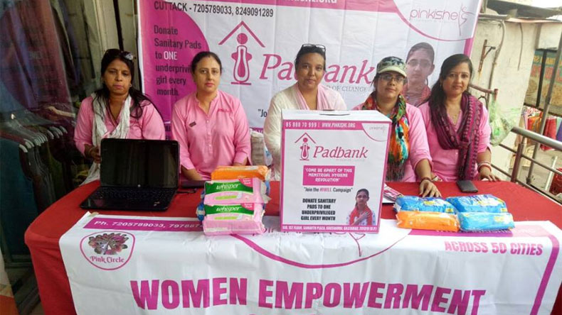 Sanitary Pad Bank, pinkishe foundation, free sanitary napkins, free sanitary pads, padman, National Family Health Survey, menstruation hygiene, pad bank, Pad Bank initiative, uttar pradesh, free napkins to poor women, offbeat news, latest updates