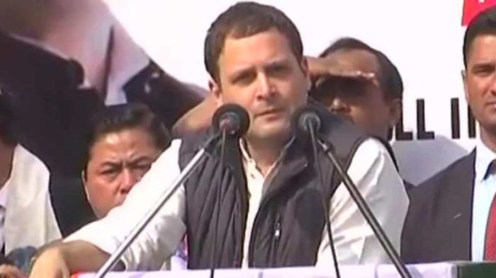 Narendra Modi not against corruption but an instrument of corruption: Rahul Gandhi in Shillong
