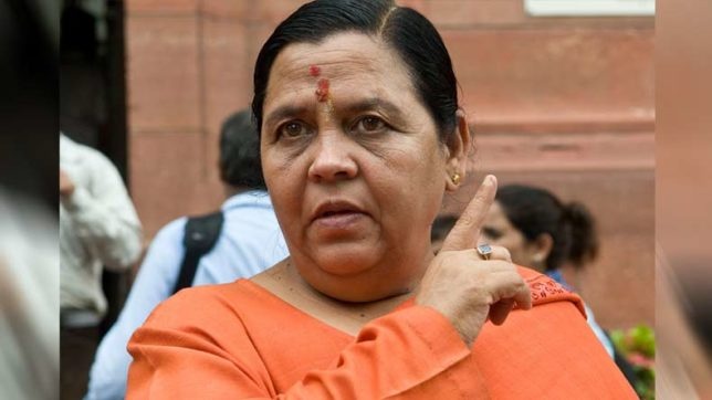 After Mohan Bhagwat's Army remark, BJP leader Uma Bharti says Nehru sought help from RSS in J&K when Pakistan attacked post-1947