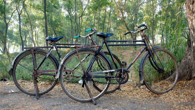 To find missing wife, labourer pedals 600 km in 24 days
