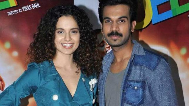 After Queen, actors Kangana Ranaut and Rajkummar Rao to team up for psychological thriller