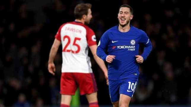 We are Chelsea, we are champions: Hazard geared up to salvage club's struggling season