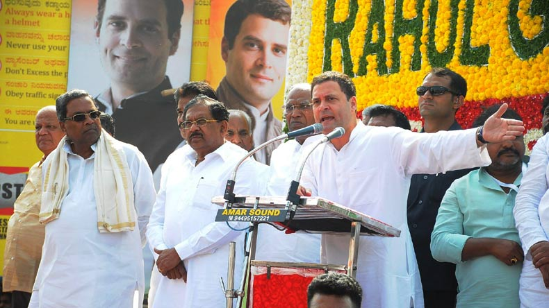 RSS running government, has its people planted everywhere: Rahul Gandhi in Karnataka