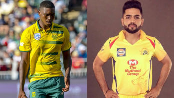 Dhruv Shorey with the bat and Lungi Ngidi with the bat can become Chennai's new found heroes