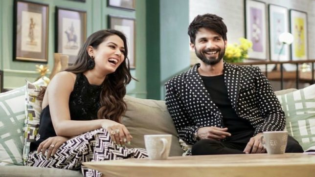 Image result for images of shahid and meera from bff with vogue