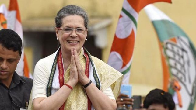 Expecting unity ahead of 2019 elections, Sonia Gandhi hosts dinner for 17 Opposition parties