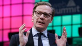 Cambridge Analytica CEO Alexander Nix suspended as Facebook data scandal blows up