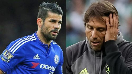 Former Chelsea star Diego Costa aims brutal dig at Antonio Conte