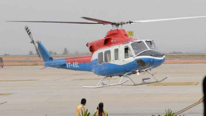 electronic city,Heli Taxi,KIAL,Bengaluru,GST,ITC,bial thumby aviation, heli-taxi, girst ever heli-taxi, National news, Regional news, Bengaluru news, India news