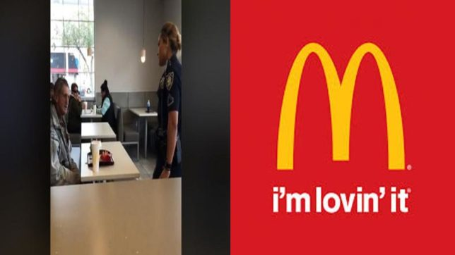 Shameful! Mcdonald's denies serving homeless man after customer pays for his food